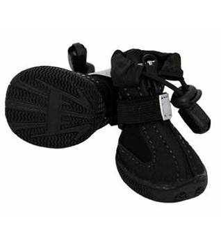 All Weather Dog Boots Black