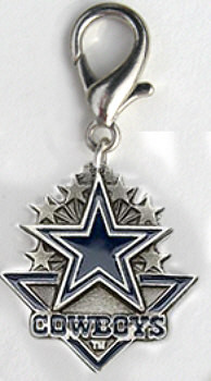 Dallas Cowboys NFL Team Dog Charms