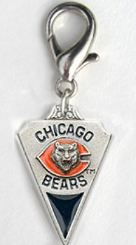 Chicago Bears NFL Team Dog Charms