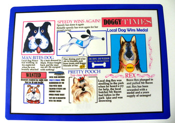 Doggie Times Placemat