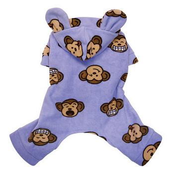 Lavender Silly Monkey Dog Pajamas