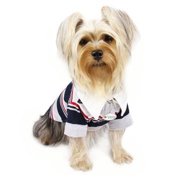 Striped Polo Dog Shirt
