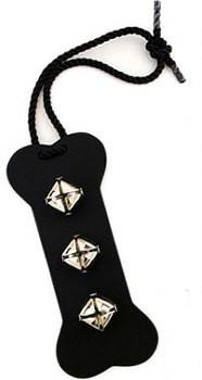 Black Bell door hanger - Bone