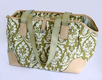 Damask Pet Dog Carrier