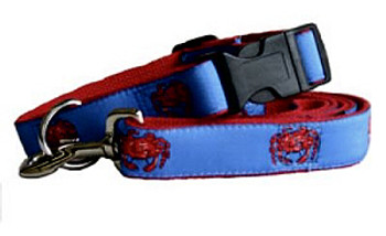 Blue Crab Dog Collars & Leashes