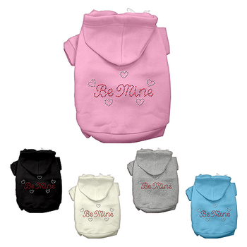Be Mine Rhinestone Dog Hoodie