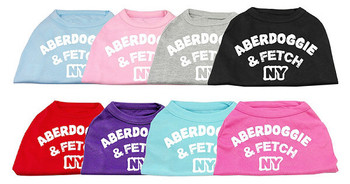 Aberdoggie and Fetch NY Dog Tanks
