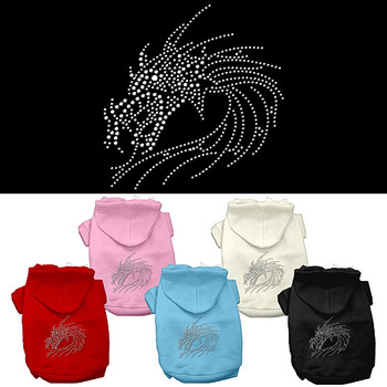 Studded Dragon Dog Hoodie