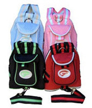Sport Sac with Leash Dog Backpack