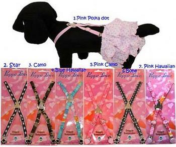 Puppy Dog Suspenders - 5 Patterns