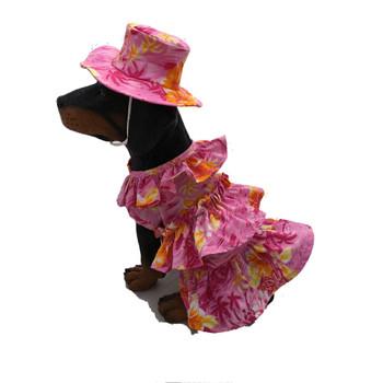Hawaiian Muu Muu Dog Dress