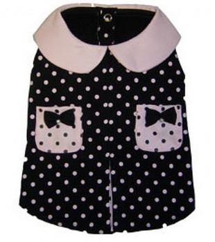 City Girl Polka Dot Dog Dress