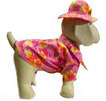 Hawaiian Print Dog Shirts