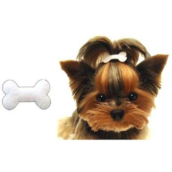 Bone Head Doggie Barrette