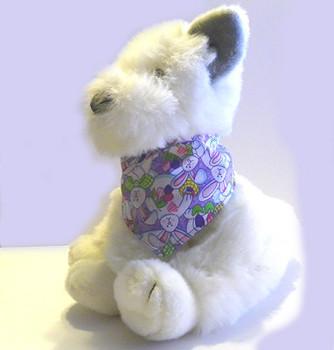 Easter Bandana - Lavender Bunnies