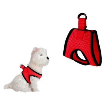 Ultra Choke Free Step In Dog Harness - Red