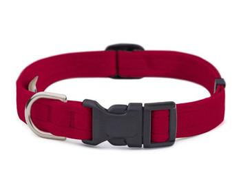 Plain Quick Release Dog Collars by Susan Lanci - 36 Colors
