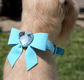 Tail Bow Collection Dog Collars by Susan Lanci