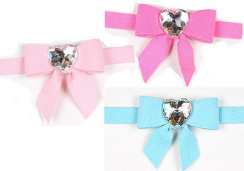 Tail Bow Collection Dog Collars by Susan Lanci 2