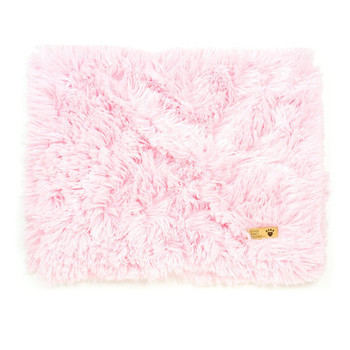 Puppy Pink Plush Shag Dog Blankets - Susan Lanci