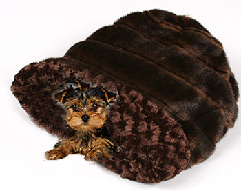 Cuddle Cup - Sable Chocolate Curley Sue by Susan Lanci