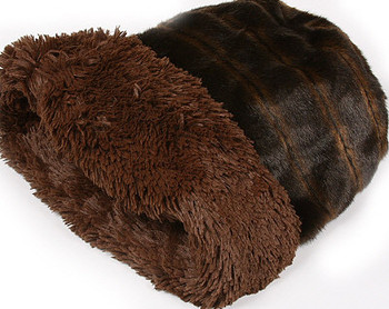 Cuddle Cup - Chocolate Shag by Susan Lanci Designs