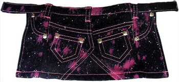 Pink Glitter Dog Skirt