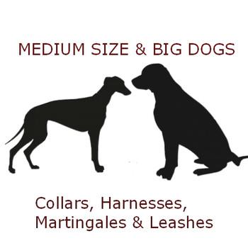 Dog Collar - Chocolate Dog - 1 1/4