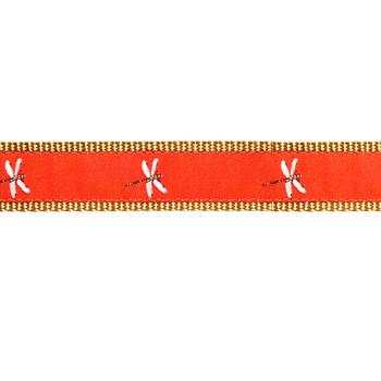 Dog Collar - Dragonfly - 1/2, 3/4, 1 1/4