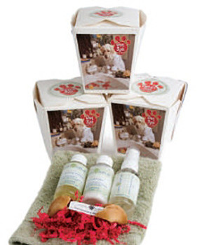 Dog Spa Chinese Take Out Gift Set