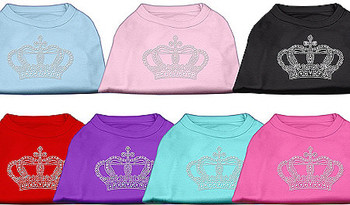 Crown Rhinestone Dog Tank