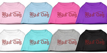Bad Dog Rhinestone Dog Tank