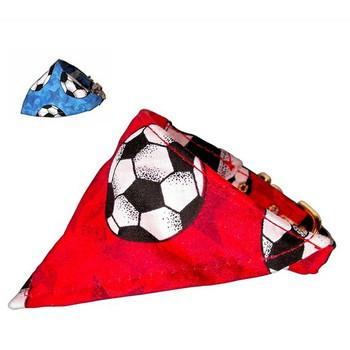 Dog Collar Bandana - Soccer