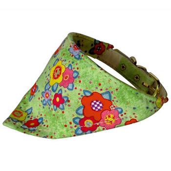 Dog Collar Bandana - Flowers