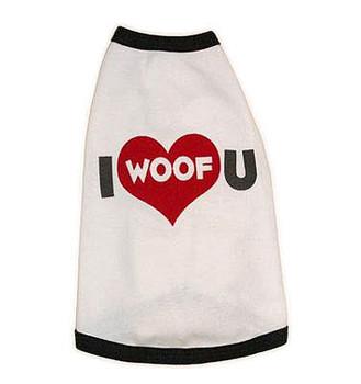 I Woof U Dog Tee