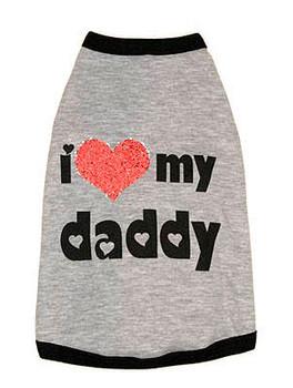 I Luv My Daddy Dog Tee
