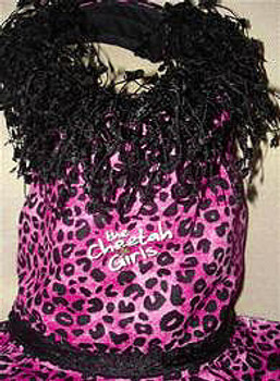 Cheetah Chicks Harness Dog Dress