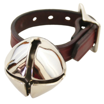 Bear Bell with Leather Strap