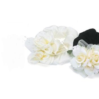 Rose Ruffs Dog Wedding Collars