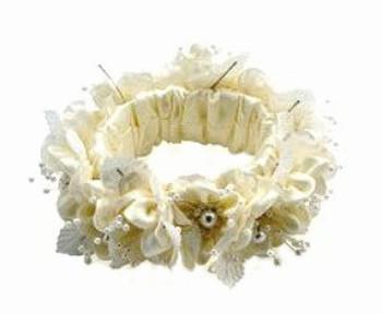 Rosebud Ring Neckwear Dog Wedding Collars