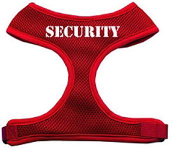 Security Design Soft Mesh Dog Harnesses