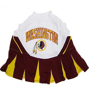 Washington Redskins Cheerleader Dog Dress