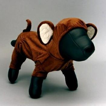 Chunky Monkey Dog Costume - XXS Only