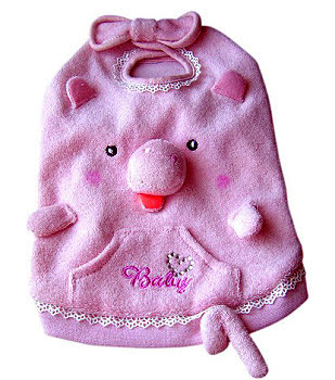 Pink Pig Dog Top or Costume