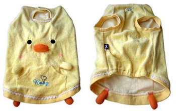 Yellow Duckie Dog Top or Costume