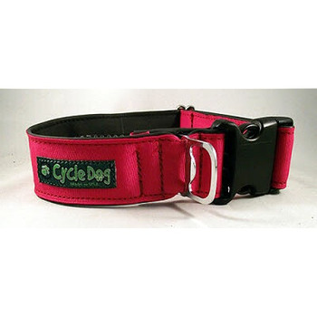 """Solid Red Plastic Quick Release Fatty 1.5""""W Collar"""