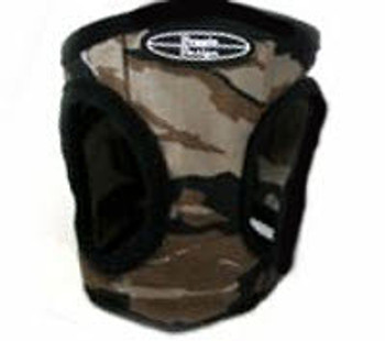 Ultra Choke Free Step In Dog Harness- Brown Camo