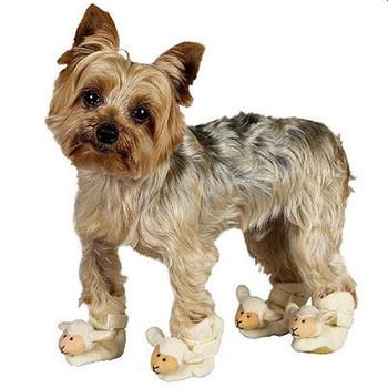 Doggie Slippers - Lambs