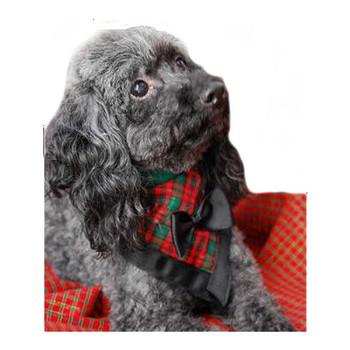 Top Dog Tartan Dog Bandana
