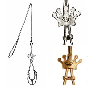 Crown Charm Step In Harness - Silver or Gold